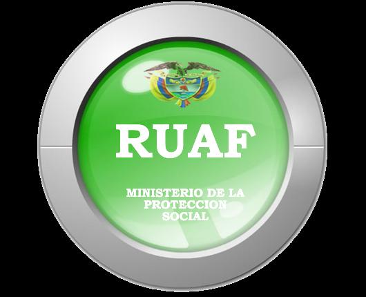 Registro Único de Afiliados – RUAF